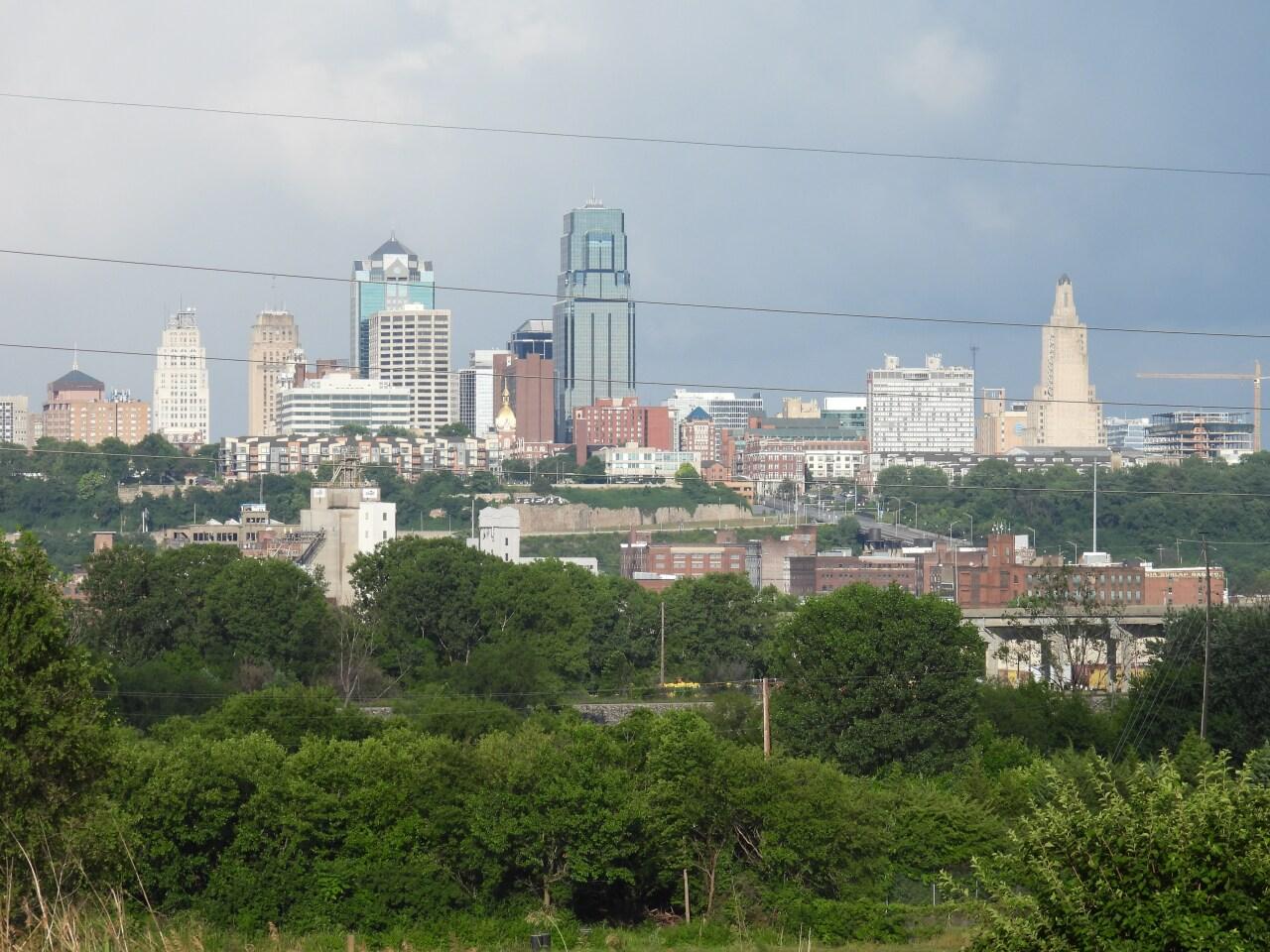Kansas City, Missouri, skyline  view from Mockingbird Lounge.JPG