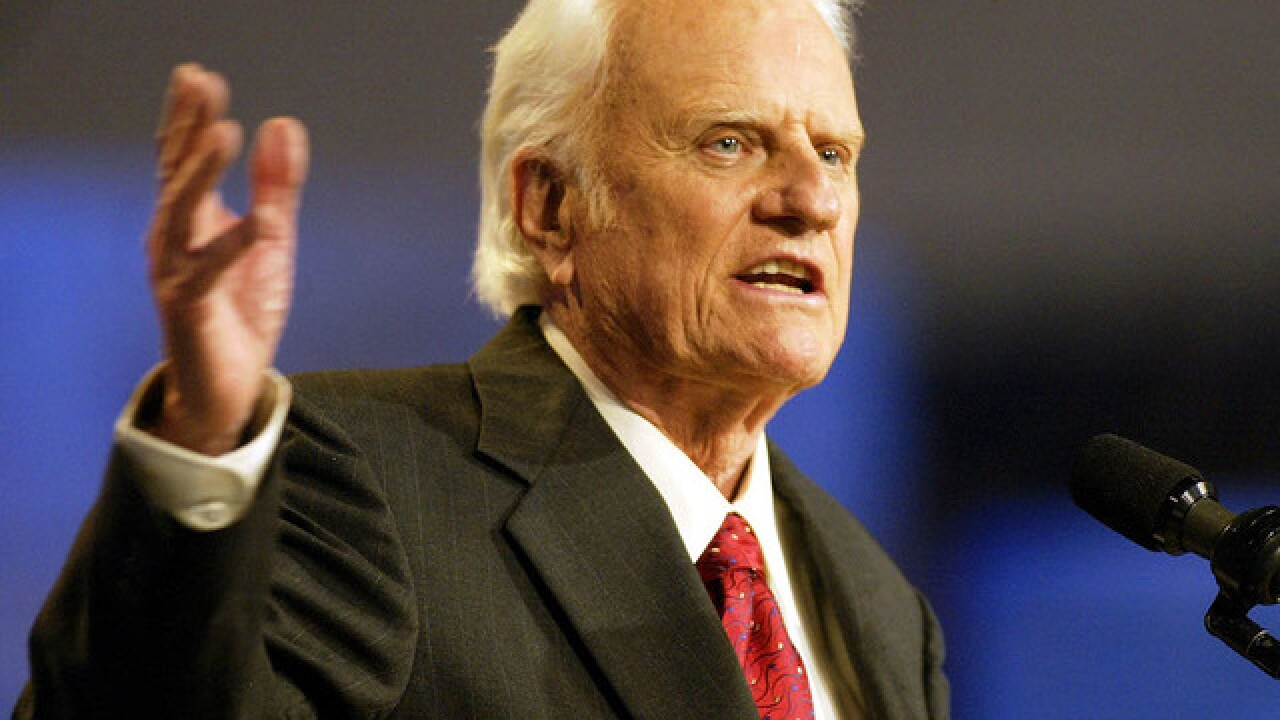 Remembering Billy Graham: A timeline of the evangelist's life and ministry
