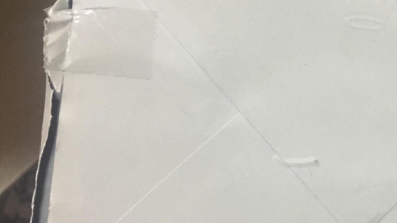 Thief slices open mail, then reseals envelopes