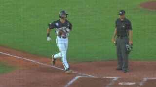 Missoula Osprey Dominic Canzone home run