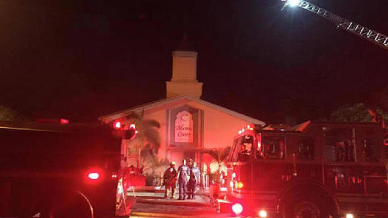 Arrest made in Orlando shooter mosque arson