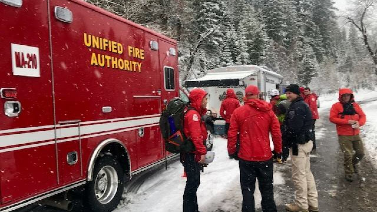 Salt Lake Co. Search and Rescue crews help hikers in Emigration Canyon