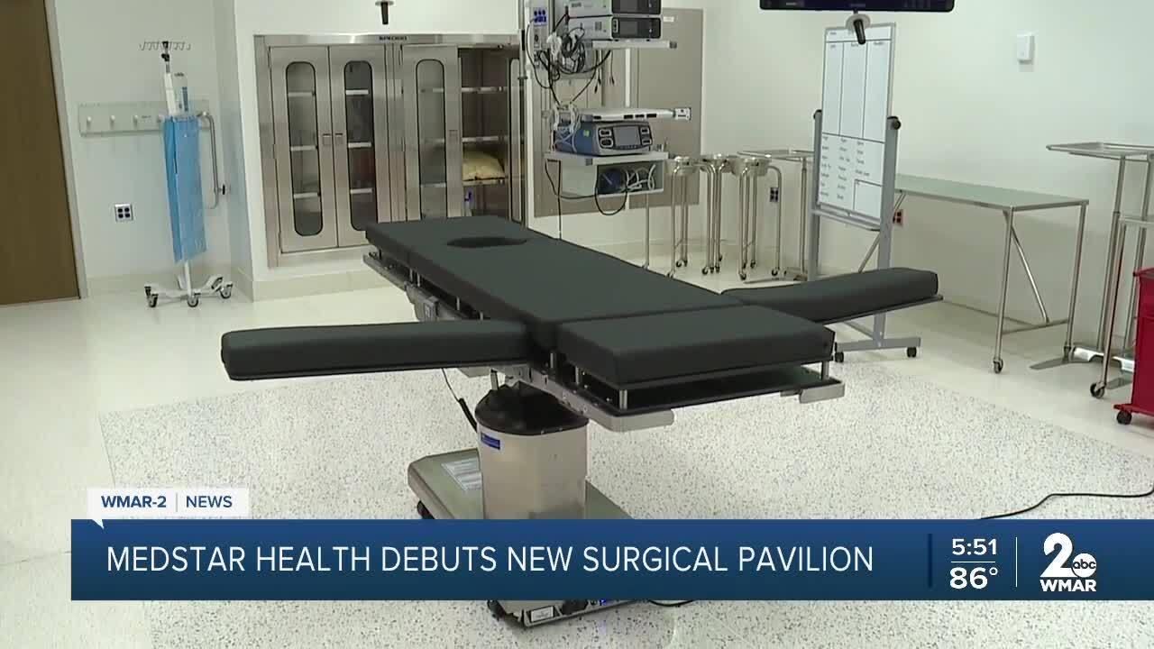 Medstar Health debuts new surgical pavilion
