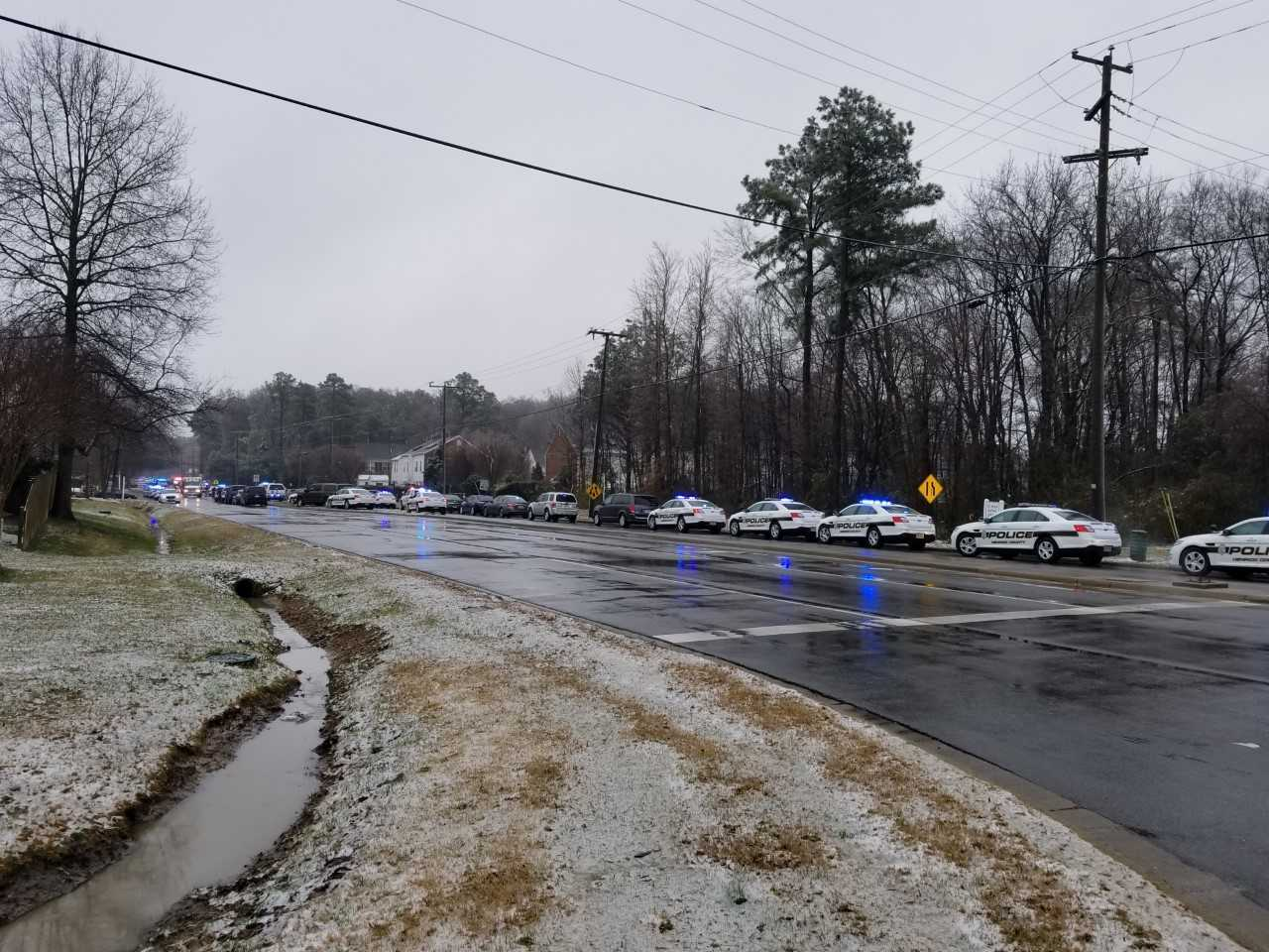 Photos: Police give 'all clear' at Henrico school after room-by-roomsearch