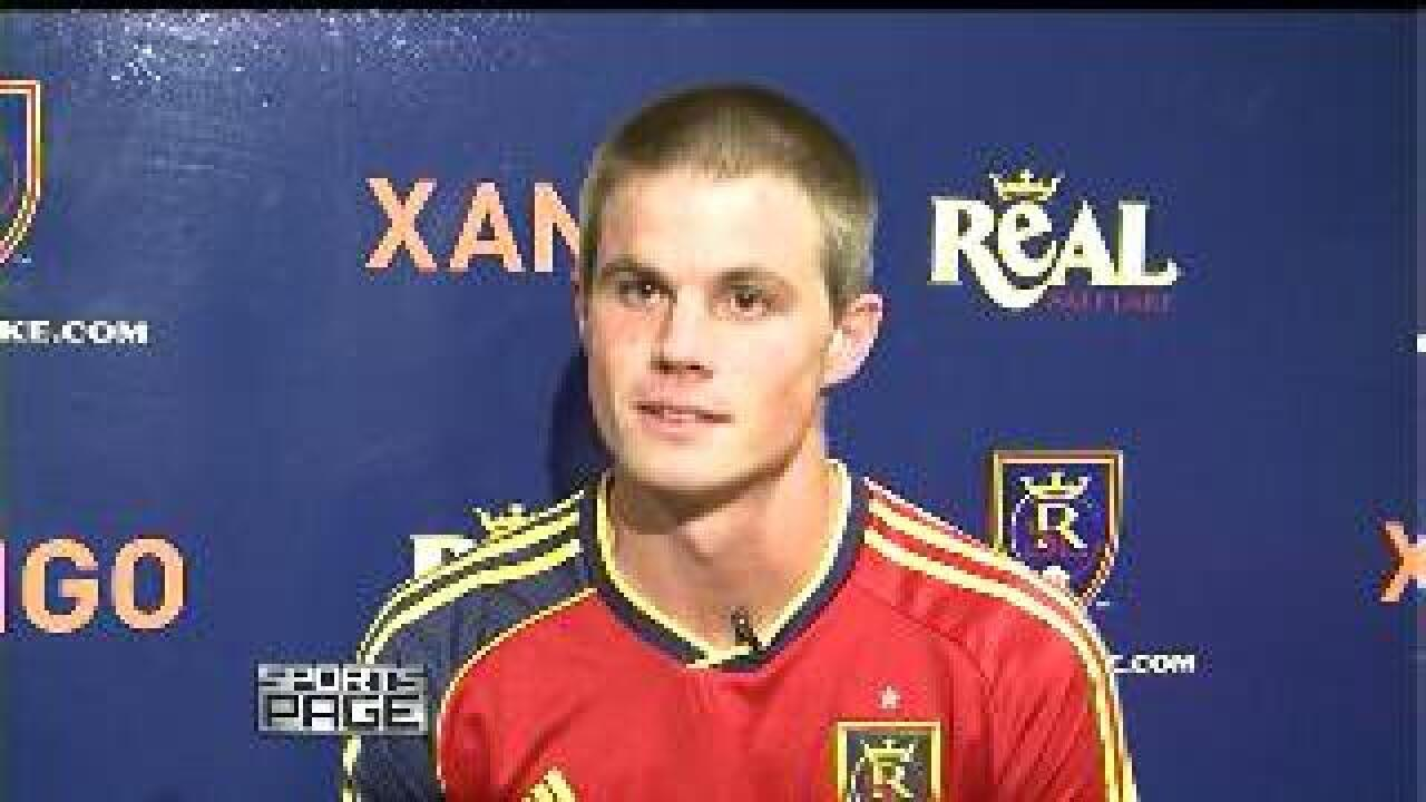 Real Salt Lake's Justin Braun