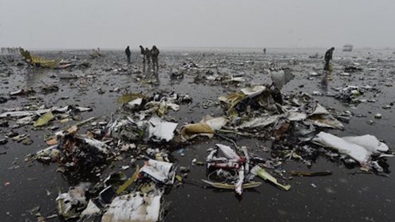Dubai plane crashes in Russia, killing 62
