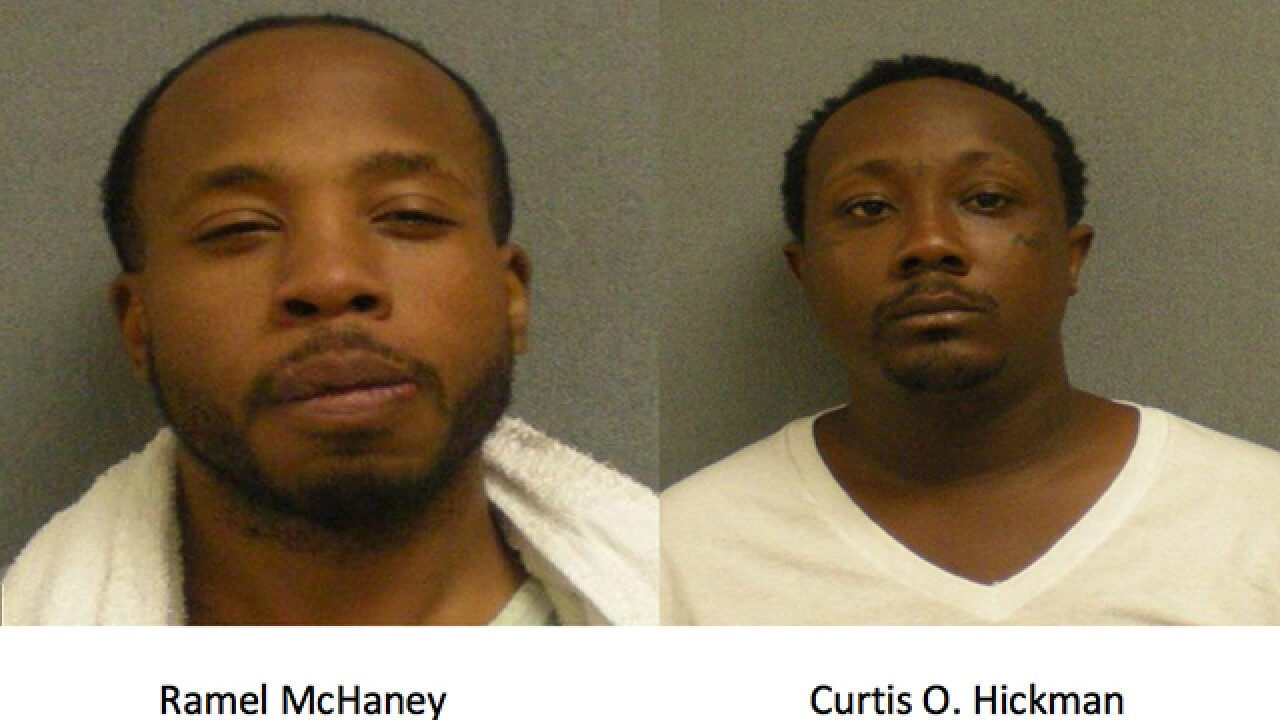 Police arrest two men with possession of drugs in their ... you don't want to know