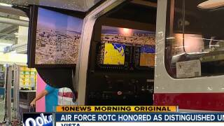 "Vista HS Air Force ROTC Honored as ""Distinguished Unit"""
