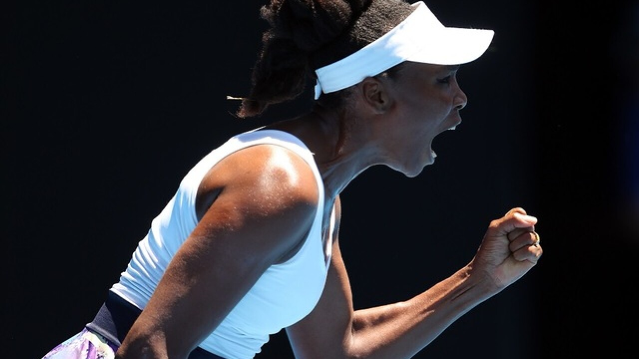 Venus Williams makes history at Australian Open semifinals