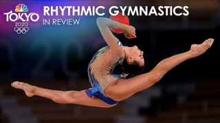 Tokyo Olympics rhythmic gymnastics in review: Dramatic upsets end Russian dominance