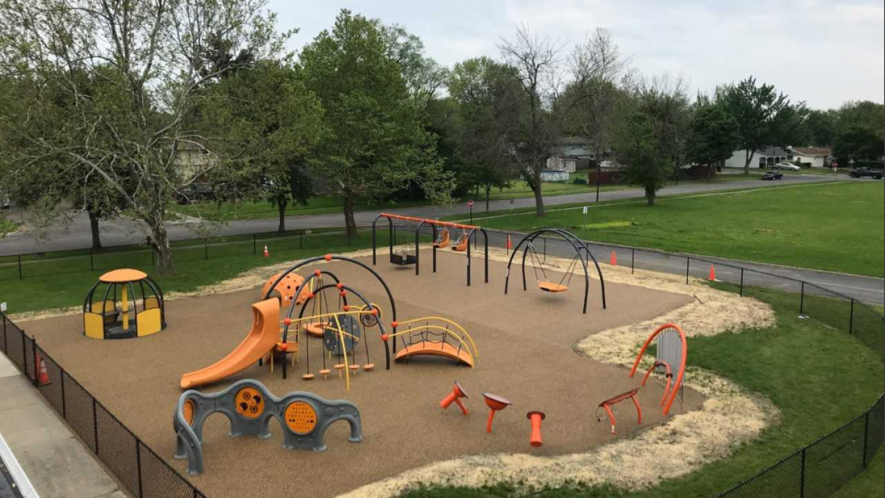 The Arc Erie County playground