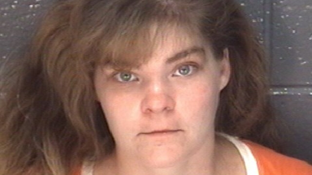 Woman wanted for credit card fraud turns herselfin