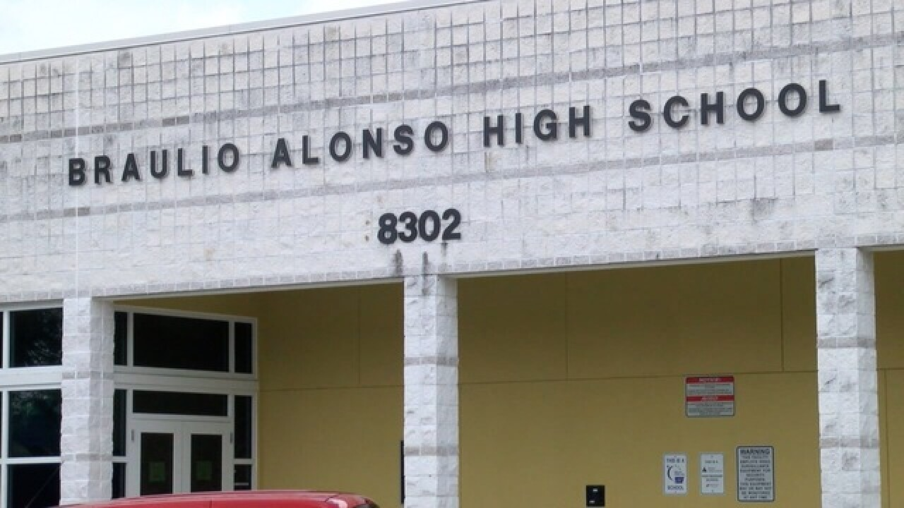 Officials getting Alonso buses to school on time