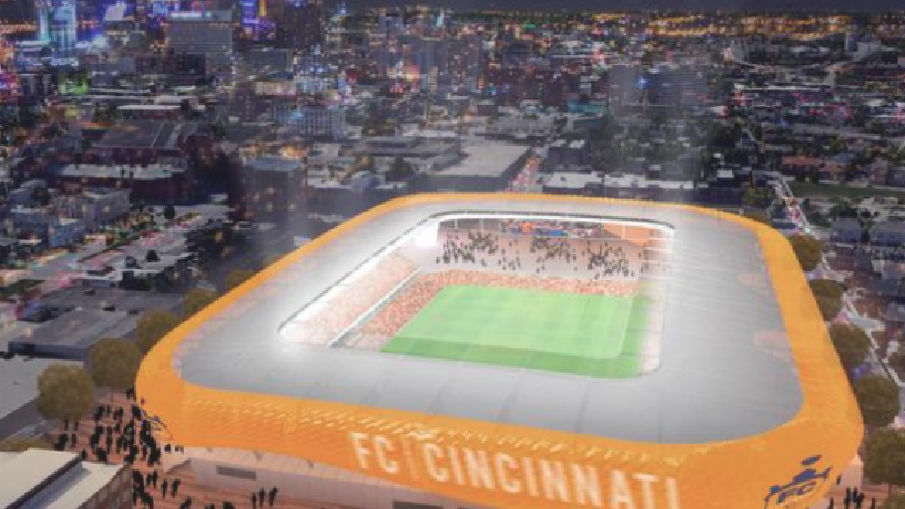 Schools OK FC Cincy's West End stadium