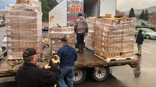 Missoula Electric Co-op Turkeys 6000 pounds