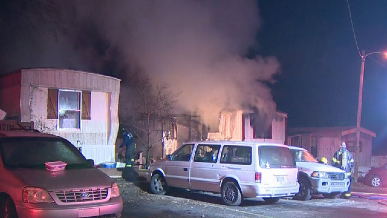 2 Children Killed In Madison Mobile Home Fire
