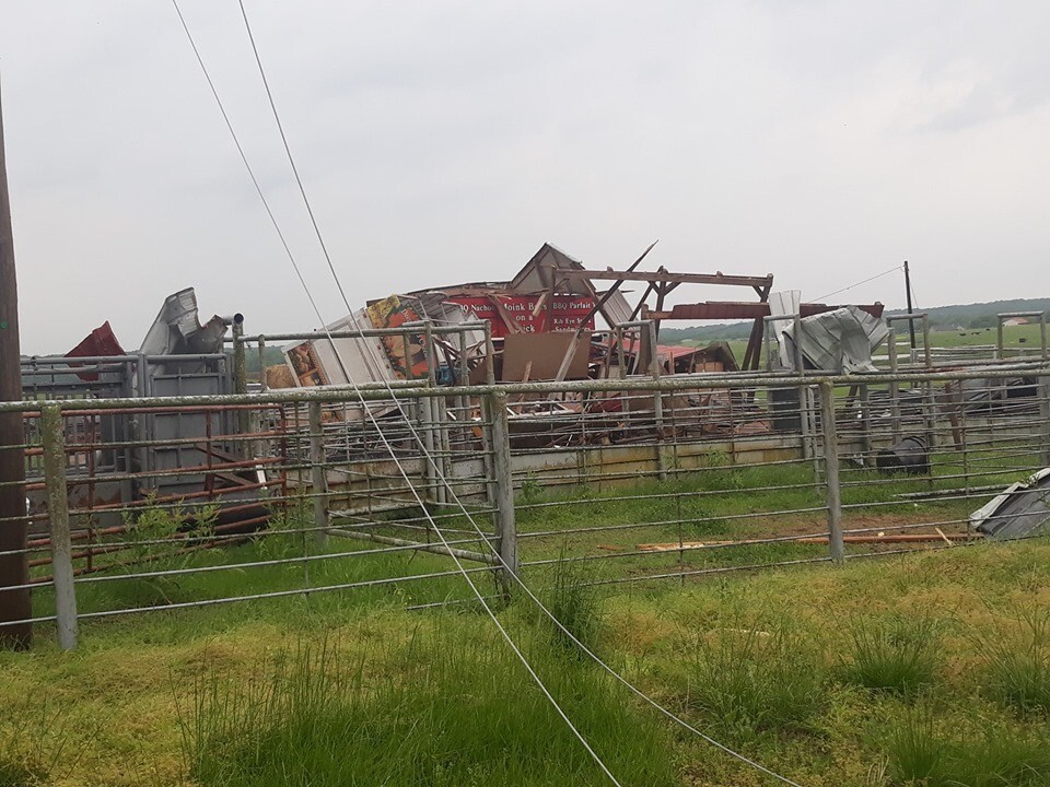 Haskell storm damage 2