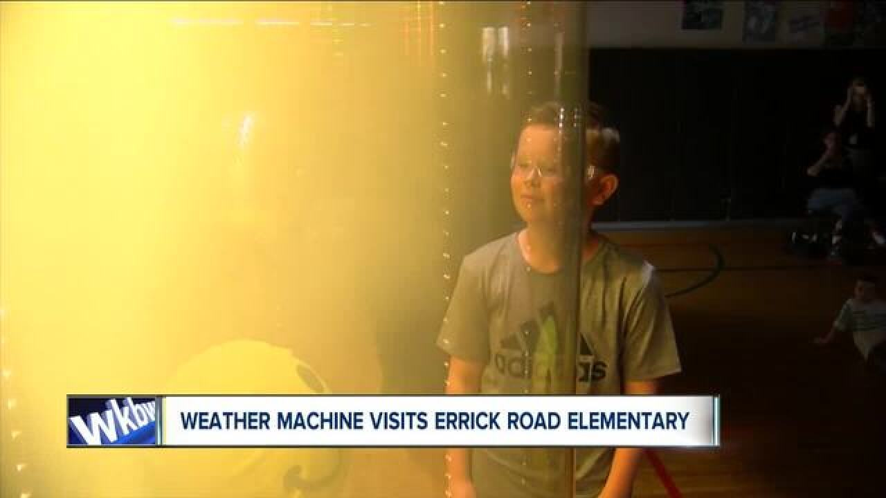 Weather Machine Visits Errick Road