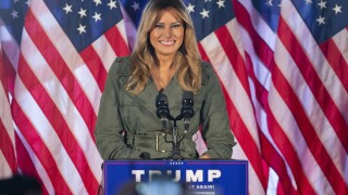 Melania Trump makes 1st solo 2020 campaign trip