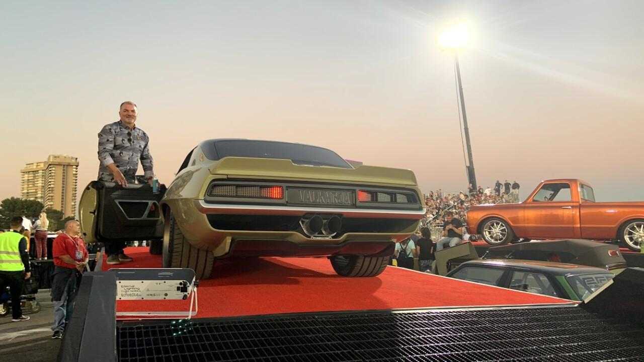 '69 Camaro voted top ride at 'SEMA Ignited'