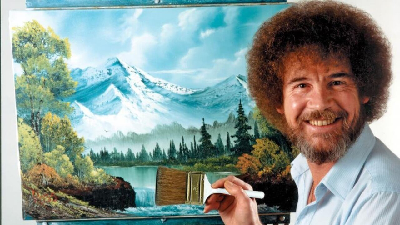 The work of beloved TV artist Bob Ross is finally being recognized in a Virginia exhibition