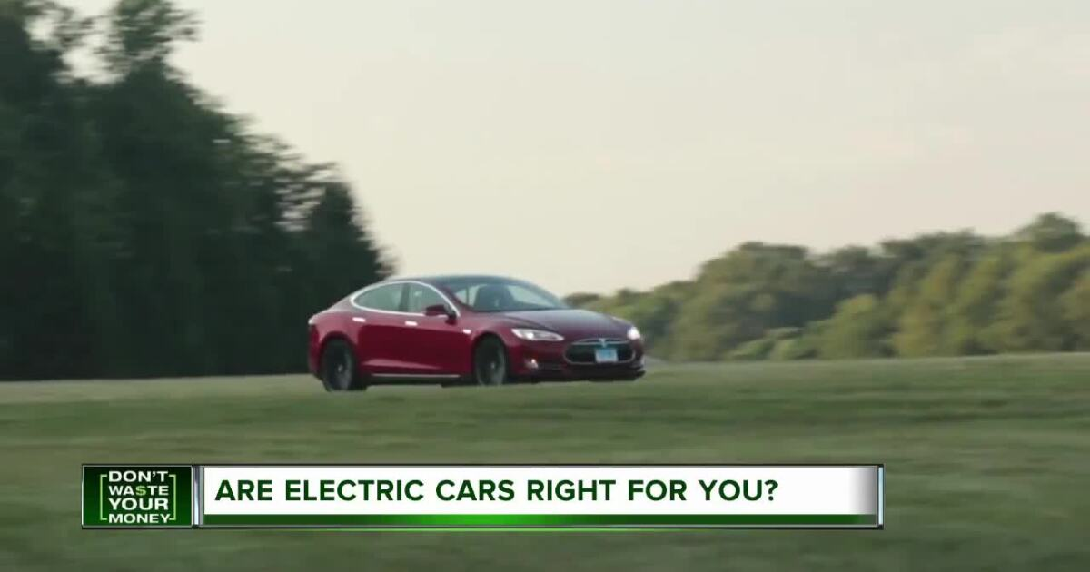Are electric cars the right choice for you?