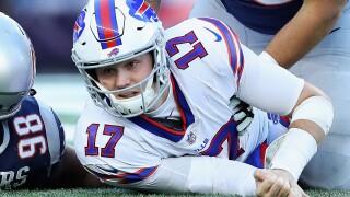 Josh Allen Bills Patriots 2018