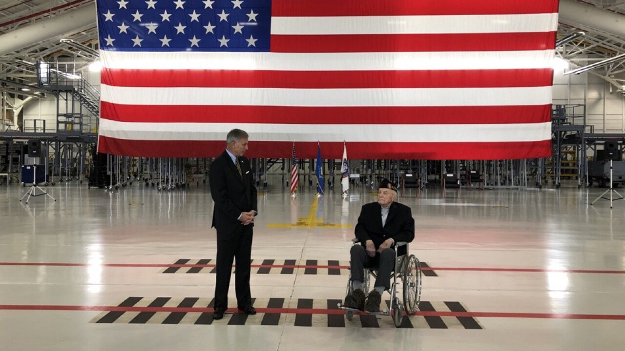 UNSECNAV WWII Veteran Award Ceremony