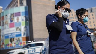 ICU nurses needed to travel to areas hardest hit by COVID-19, like New York City