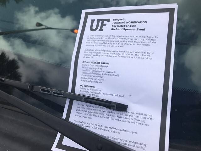 PHOTOS: University of Florida prepares for Richard Spencer speaking event