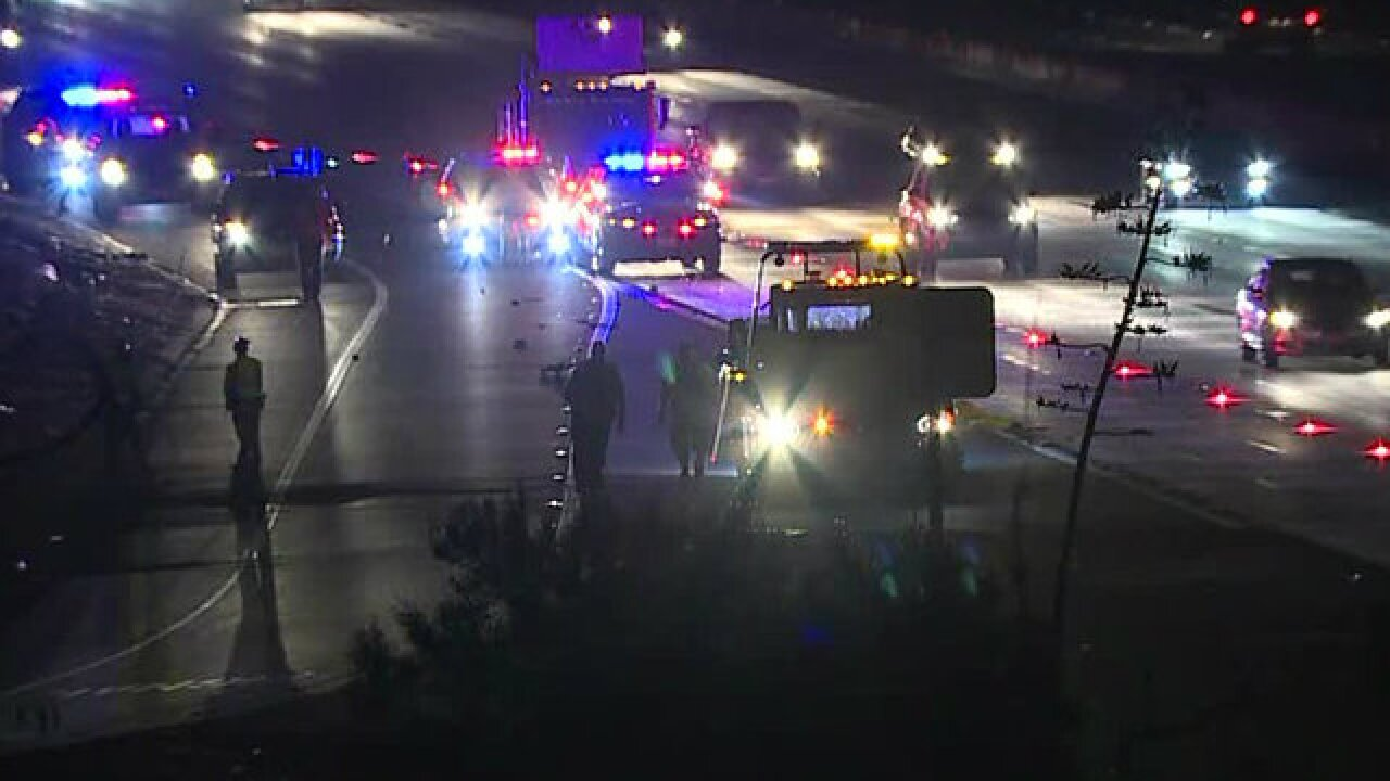 Medical Examiner identifies man struck and killed on I-5 in Chula Vista