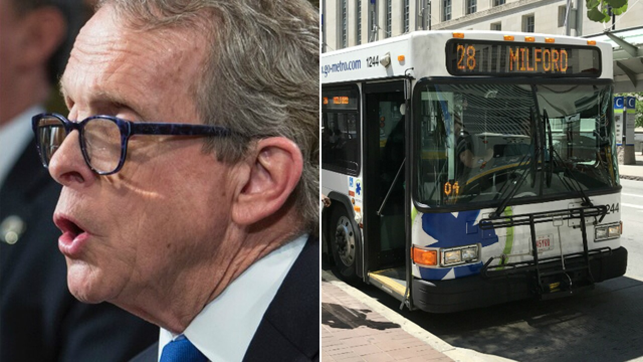 DeWine victory in Ohio governor's race leaves transit advocates feeling uncertain