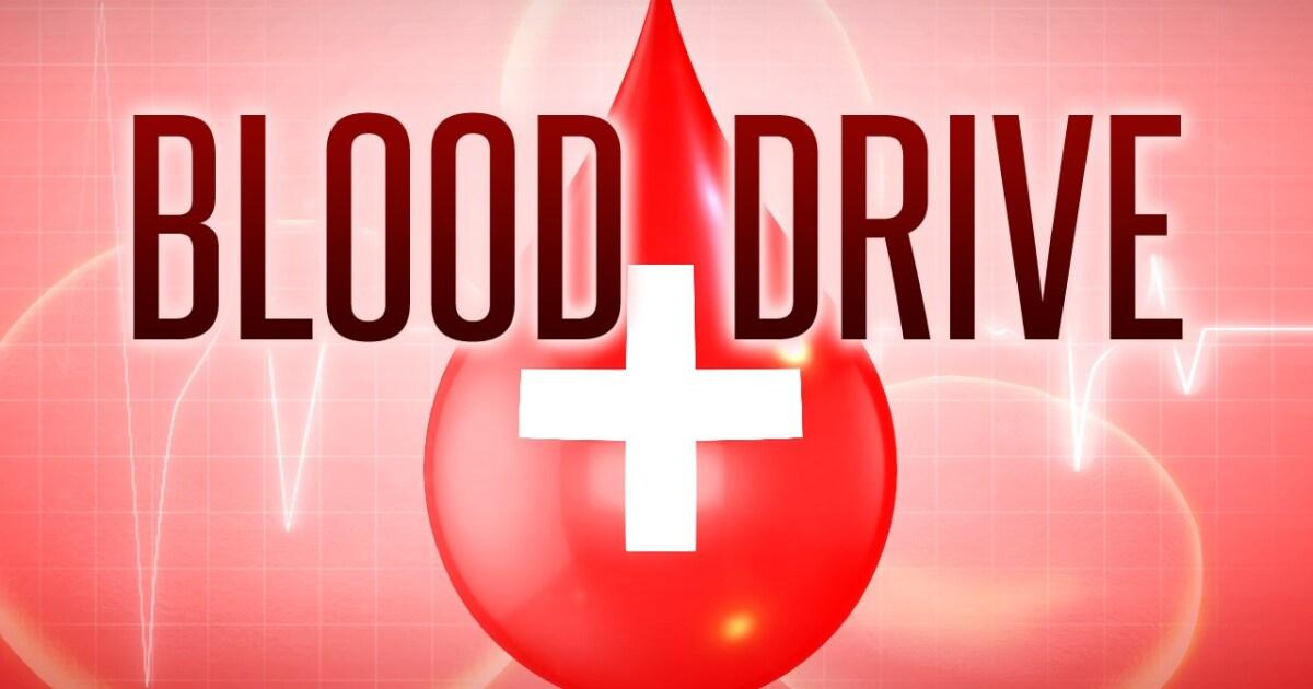 NFL Blood Drive kickoff set for Saturday
