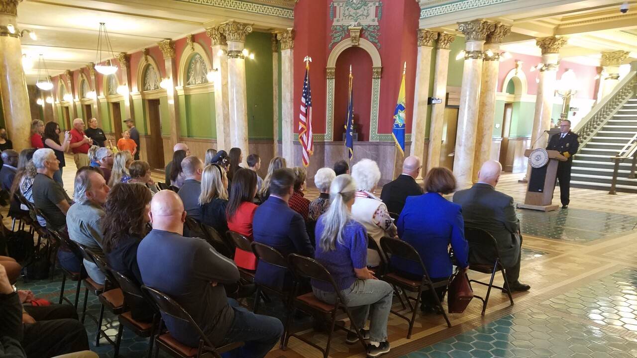 9/11 ceremony at State Capitol remembers lives lost and honors courage shown that day