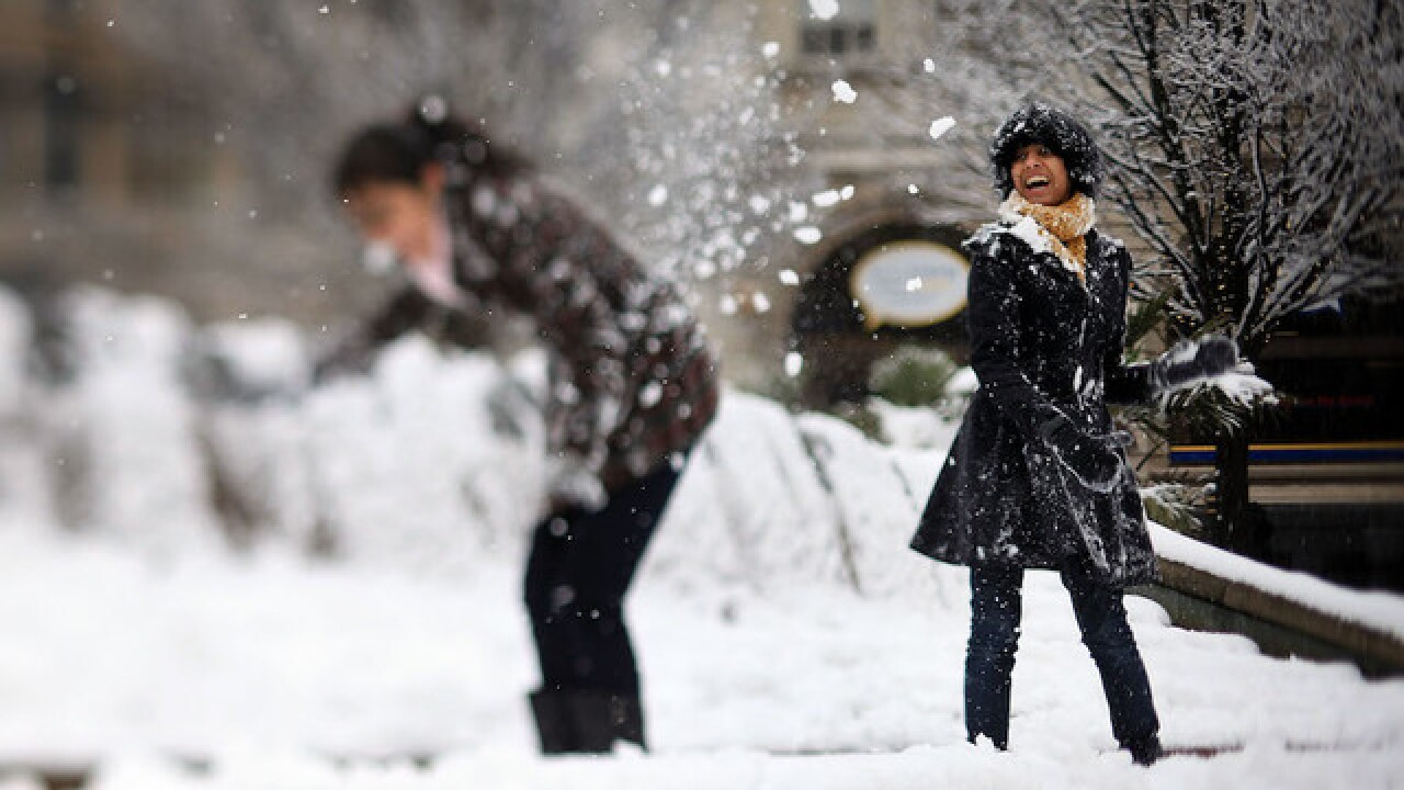 Child gets Colorado city to end snowball fight ban