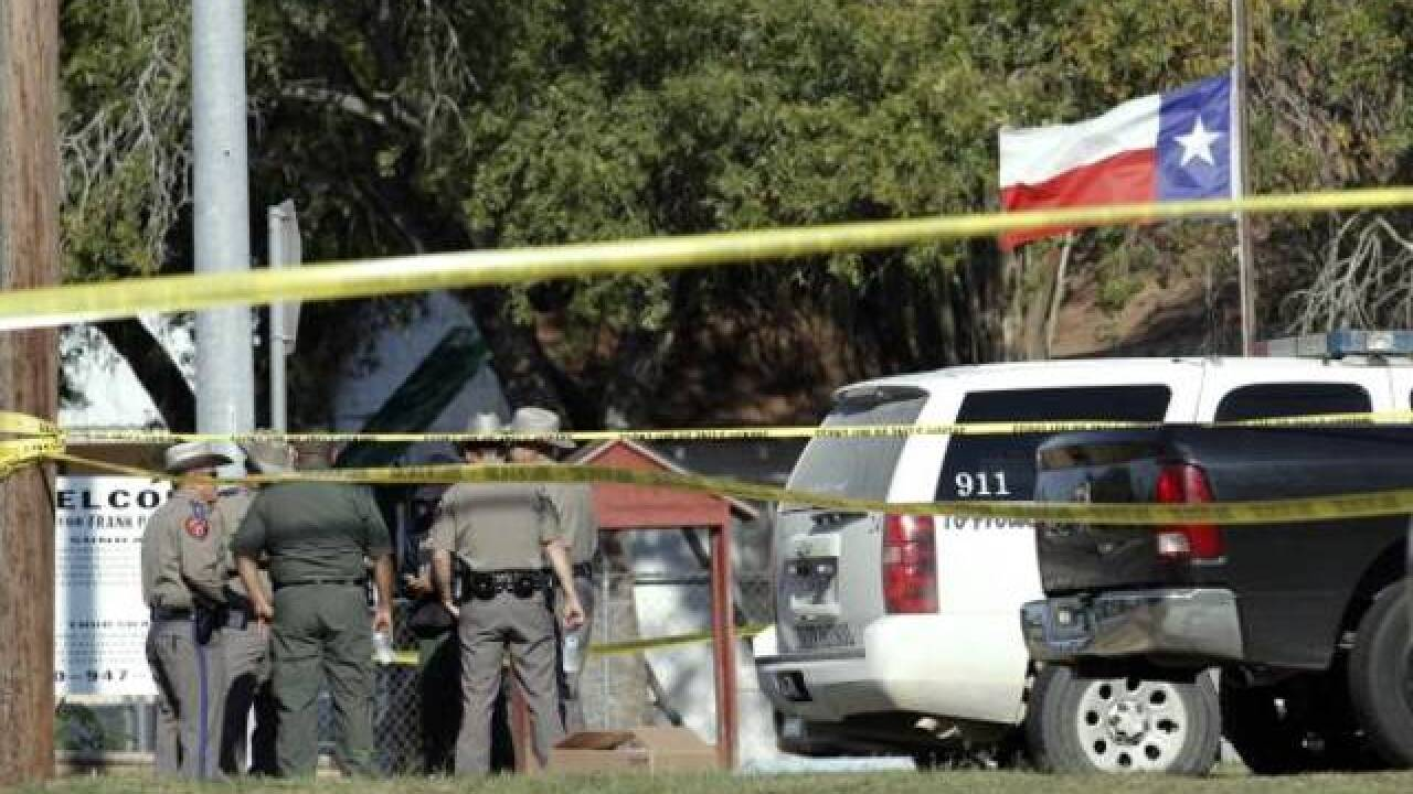 Multiple victims after shooting at Texas church