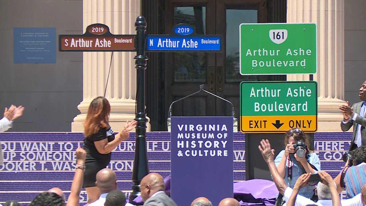 Richmond unveils Arthur Ashe Boulevard: 'It almost brought me totears'