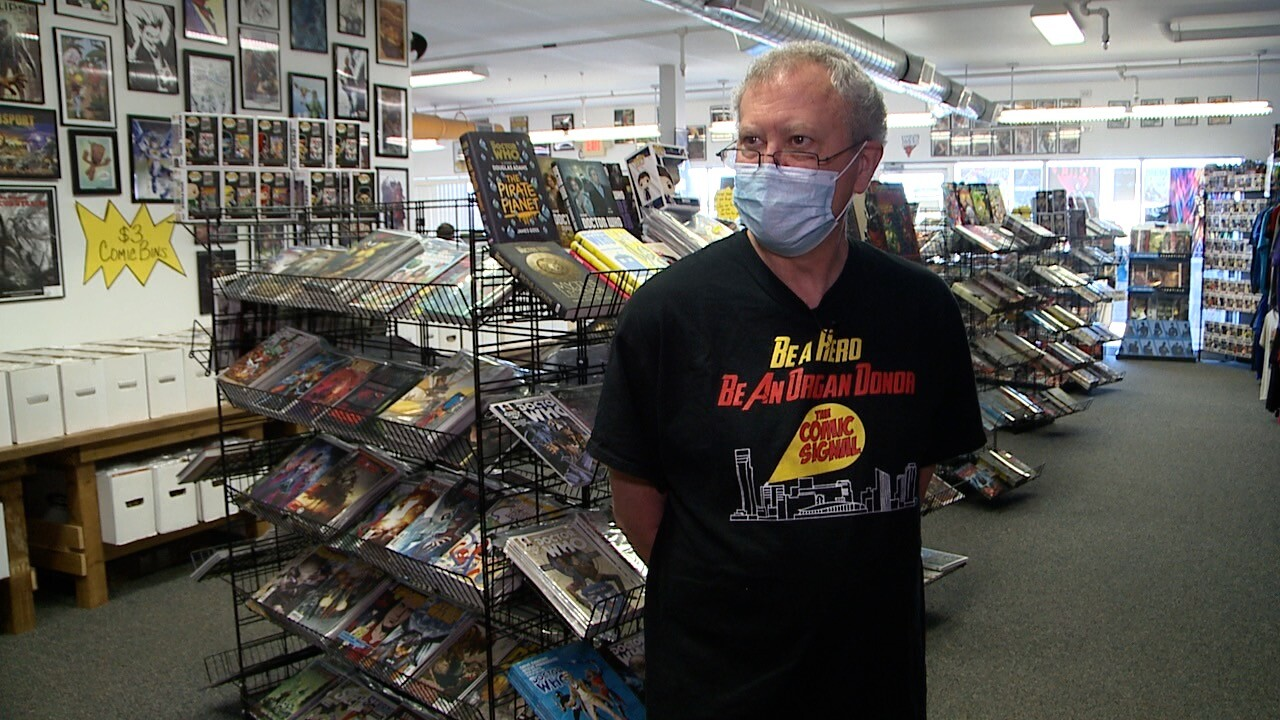 Don Myers Comic Signal Back at Work