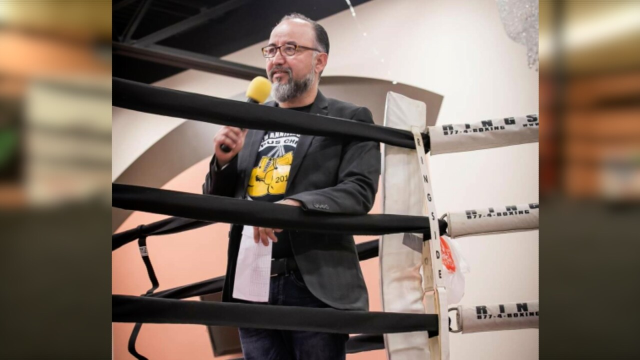 David Mendez, known as the Voice of South Texas in the boxing community