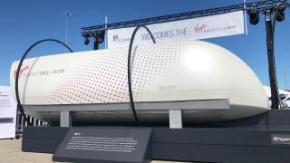 Hyperloop test pod