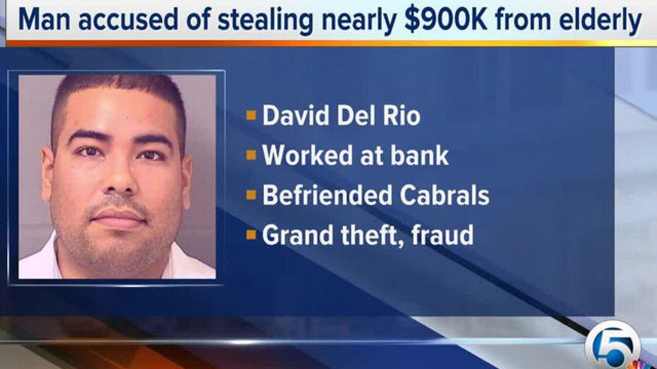 Man accused of exploiting elderly couple