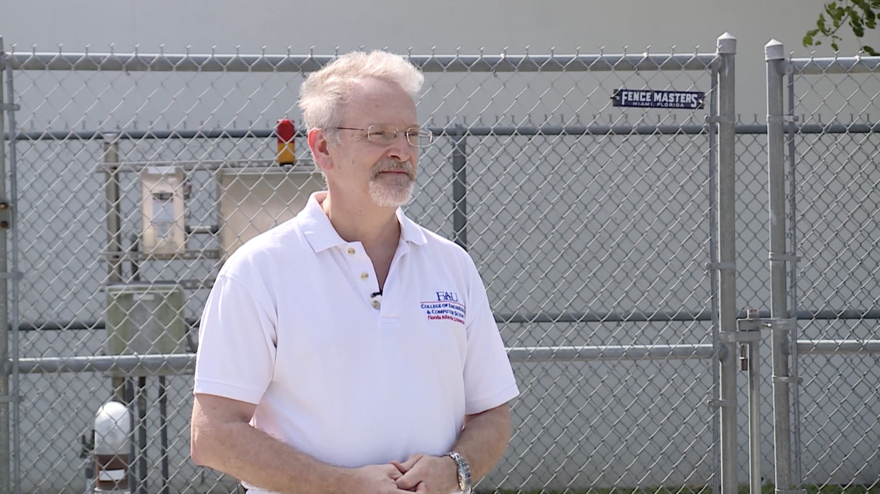Frederick Bloetscher, FAU engineering professor, talks about testing wastewater for COVID-19