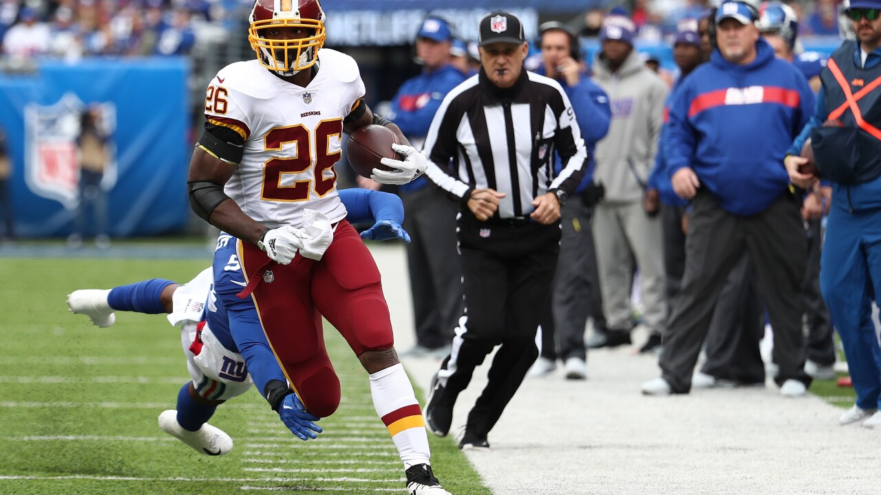 'Skins scoop: Adrian Peterson named NFC Offensive Player of the Week