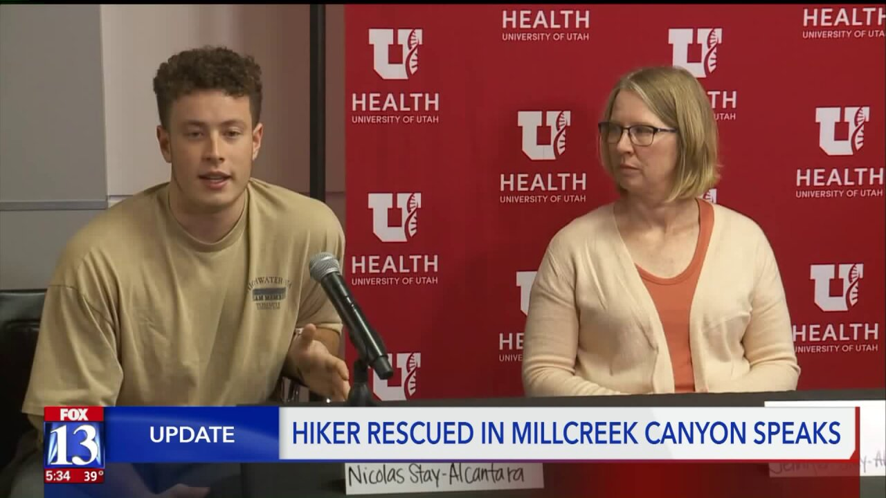 Teen Shares Survival Story after spending the night in Millcreek Canyon