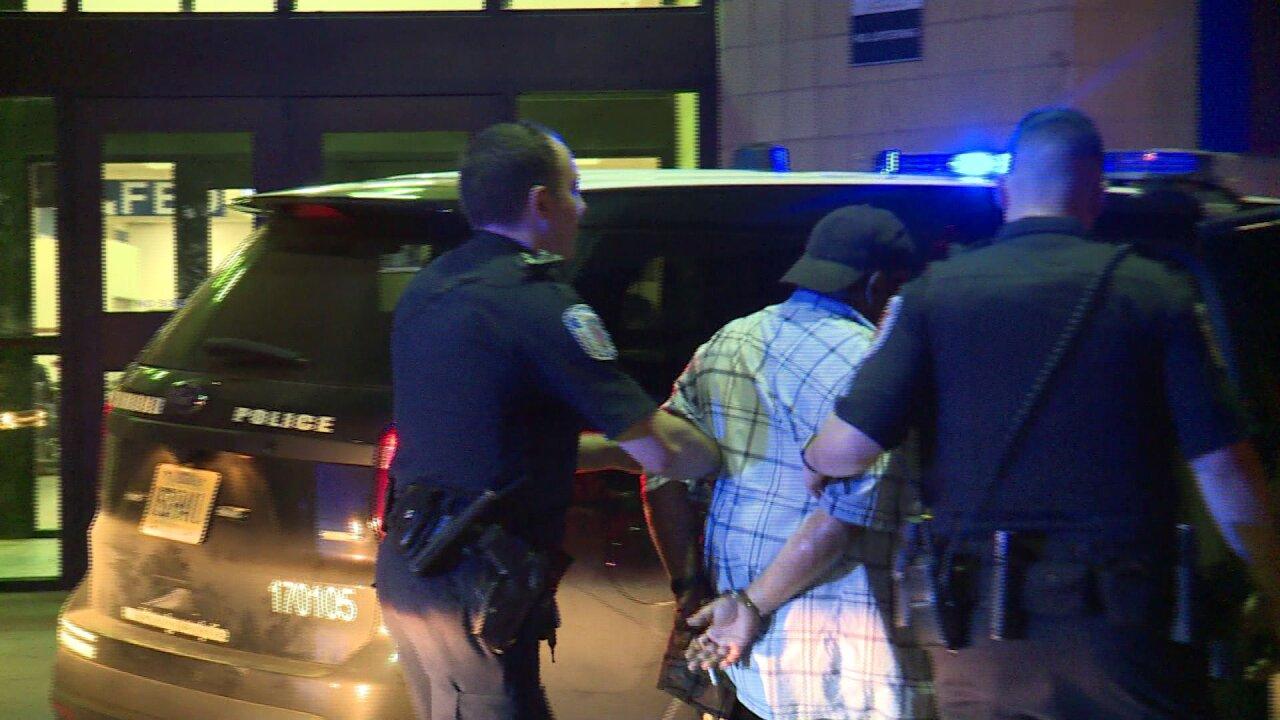 Man in custody for allegedly punching Greyhound bus stationemployee