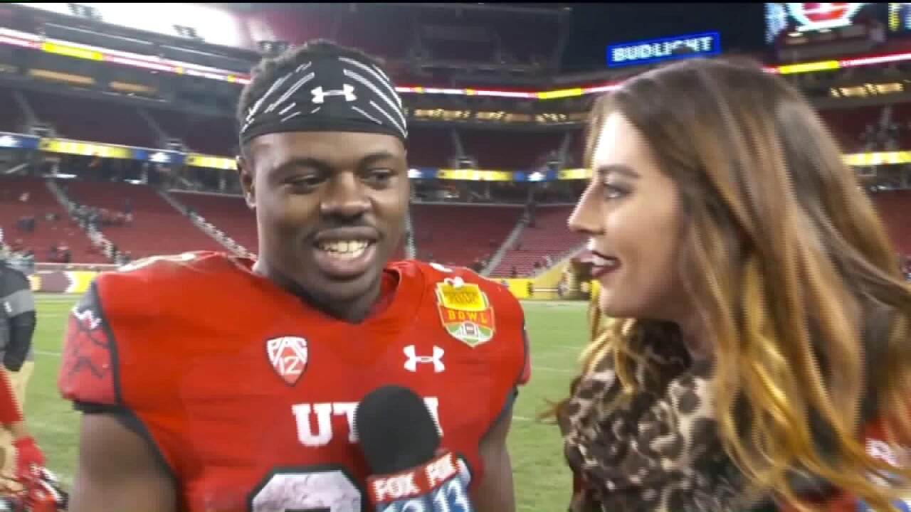 Joe Williams leads Utah to a win over Indiana in Foster FarmsBowl