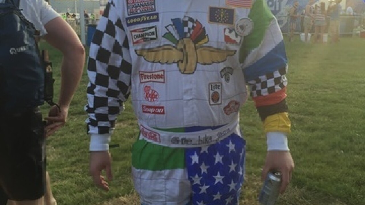 The most ridiculous fans at the Indy 500