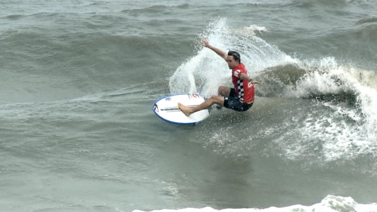 Pro surfer Michael Dunphy