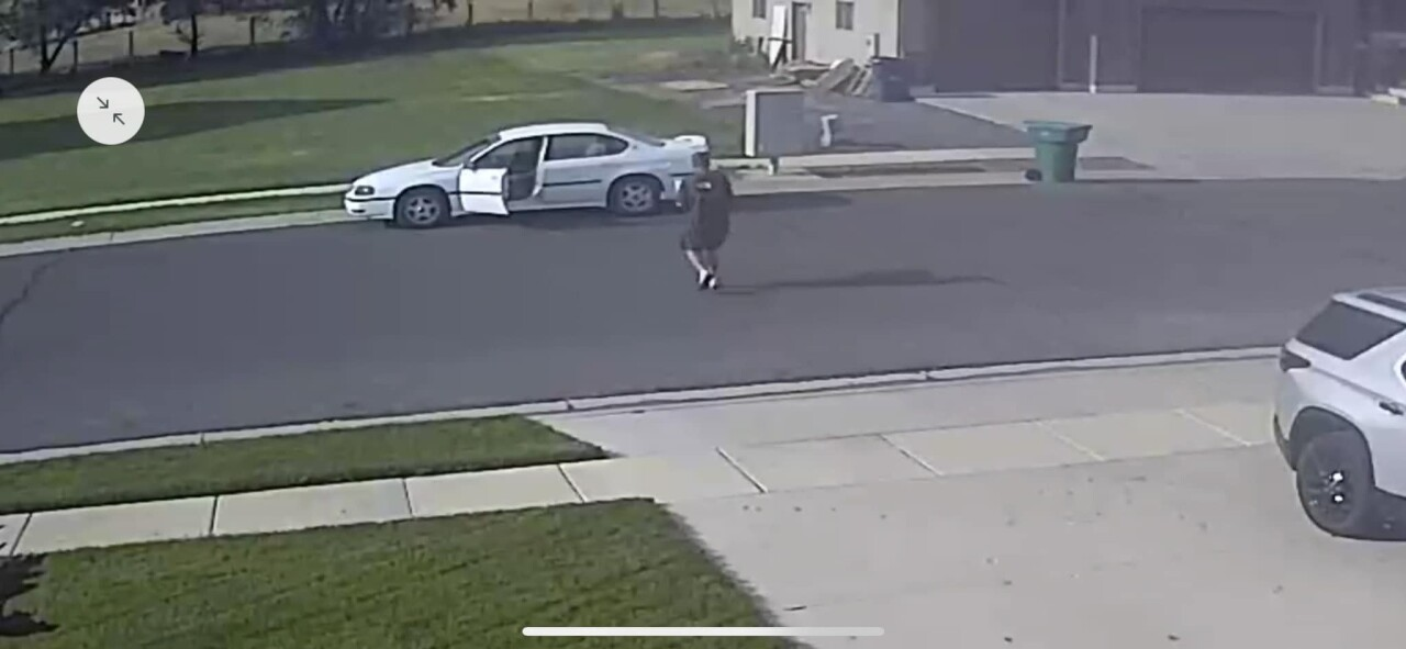 Weber County Porch Pirate