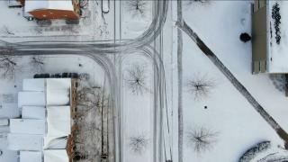 WCPO snowy roads drone.png